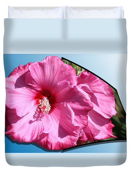 Hibiscus Duvet Cover by Shane Bechler
