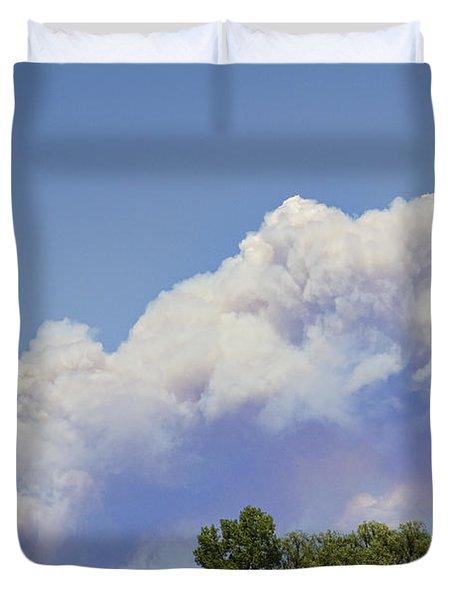High Park Fire Larimer County Colorado  Duvet Cover by James BO  Insogna