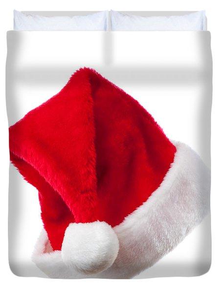Ho Ho Ho - Santa Hat Duvet Cover by Amanda And Christopher Elwell