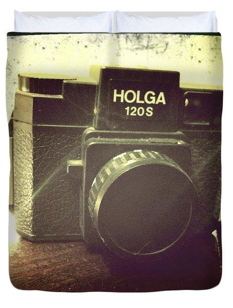 Holga Duvet Cover by Nina Prommer