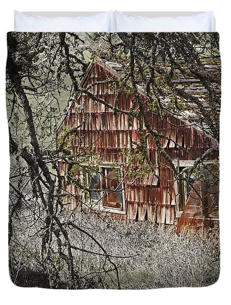 Home Sweet Home Duvet Cover by Mick Anderson