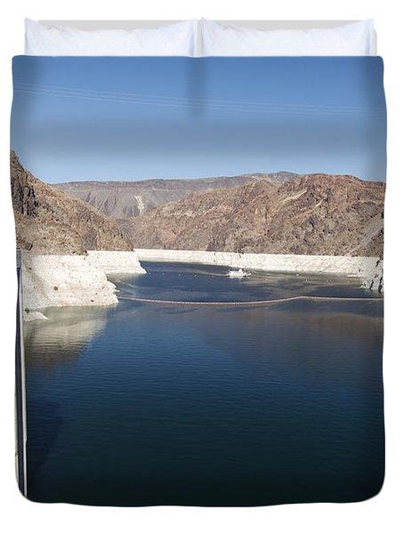Hoover Dam Duvet Cover by Gloria & Richard Maschmeyer