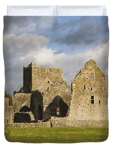 Hore Abbey, Cashel, County Tipperary Duvet Cover by Richard Cummins