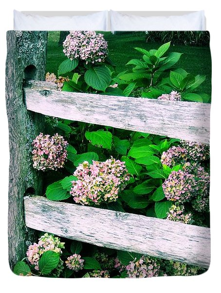 Hydrangeas Duvet Cover by JAMART Photography