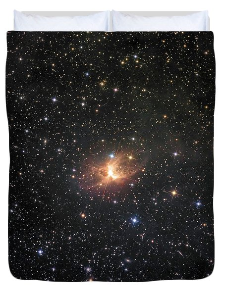 Ic 2220, Known As The Toby Jug Nebula Duvet Cover by Don Goldman