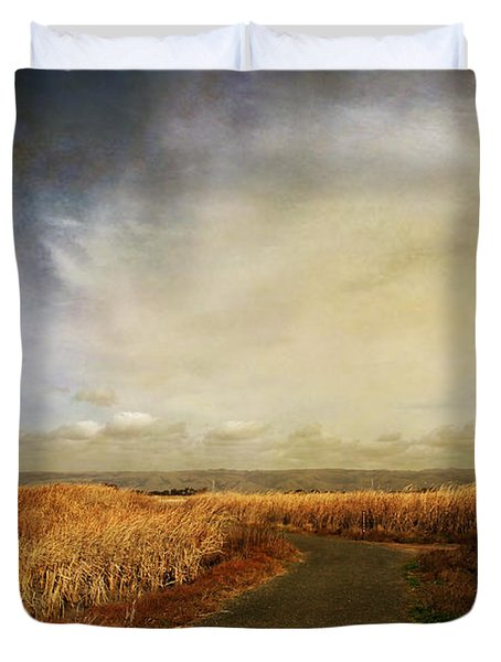 If I Could See Into The Future Duvet Cover by Laurie Search