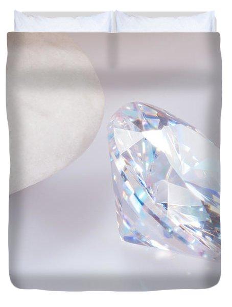 illuminate diamond Duvet Cover by ATIKETTA SANGASAENG