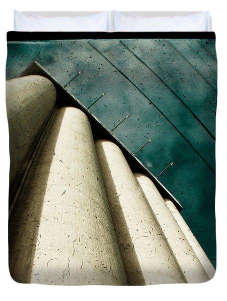 Impending Doom Duvet Cover by Andrew Paranavitana