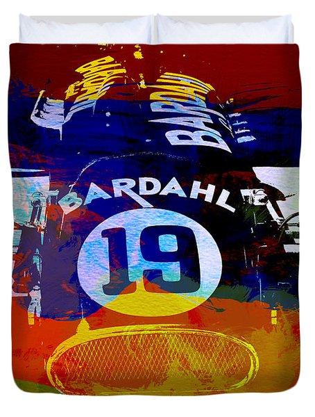 In Between The Races Duvet Cover by Naxart Studio