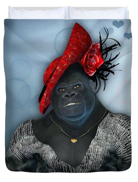 In Disguise Duvet Cover by Jutta Maria Pusl