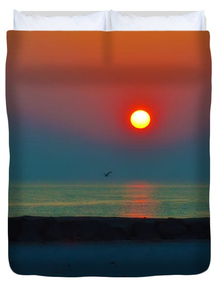 In the Morning Sun Duvet Cover by Bill Cannon