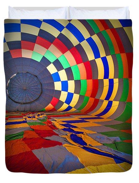 Inflating Duvet Cover by Rick Berk