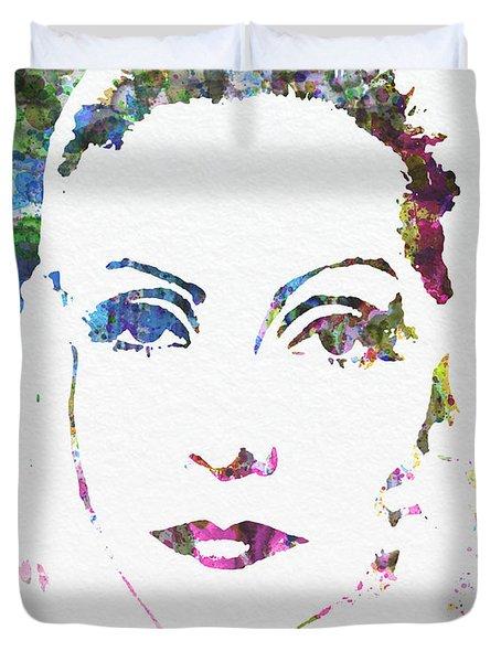 Ingrid Bergman  Duvet Cover by Naxart Studio