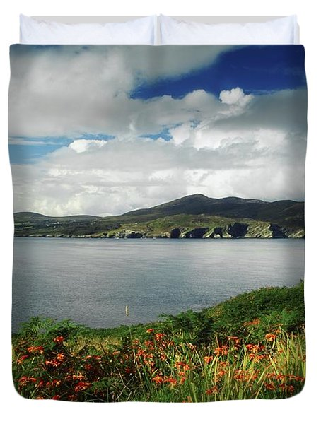 Inishowen Peninsula, Co Donegal Duvet Cover by The Irish Image Collection
