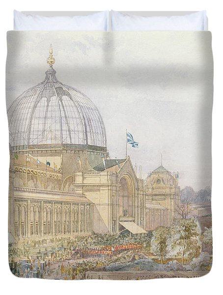 International Exhibition Duvet Cover by Edward Sheratt Cole