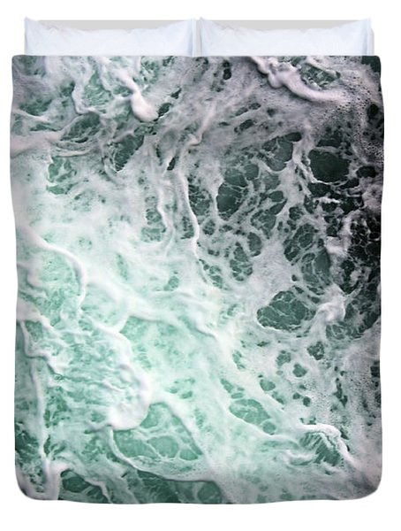 Into The Deep Duvet Cover by Kristin Elmquist