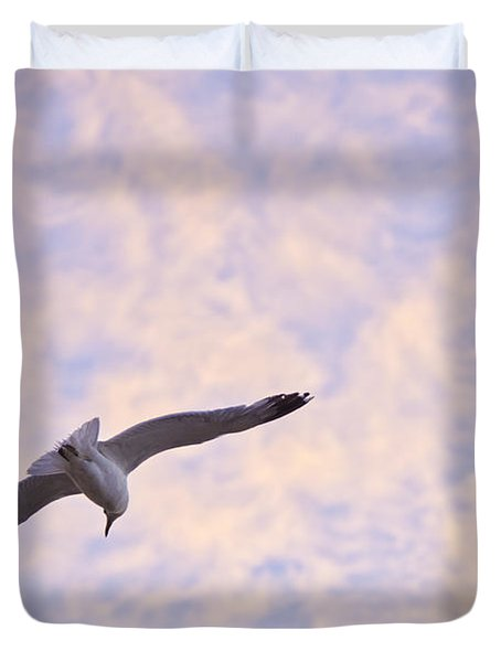 Into The Wind Duvet Cover by Priya Ghose