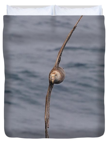 Into The Wind Duvet Cover by Tony Beck