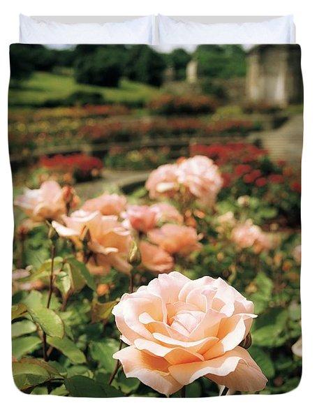 Irish National War Memorial Gardens Duvet Cover by The Irish Image Collection