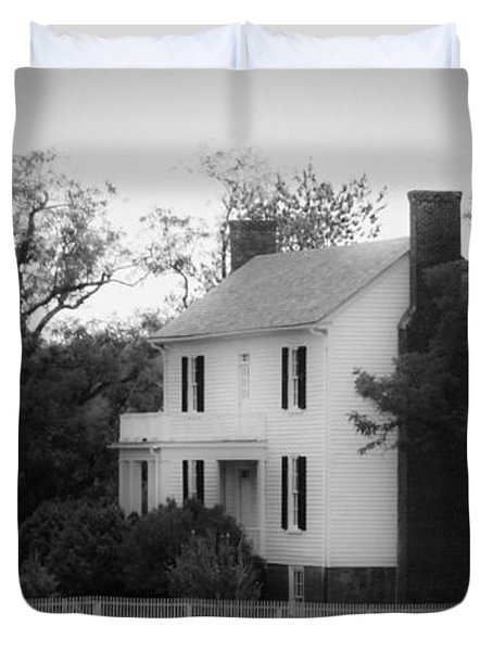 Isbell House Appomattox Virginia Duvet Cover by Teresa Mucha