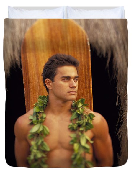 Island Man Duvet Cover by Dana Edmunds - Printscapes