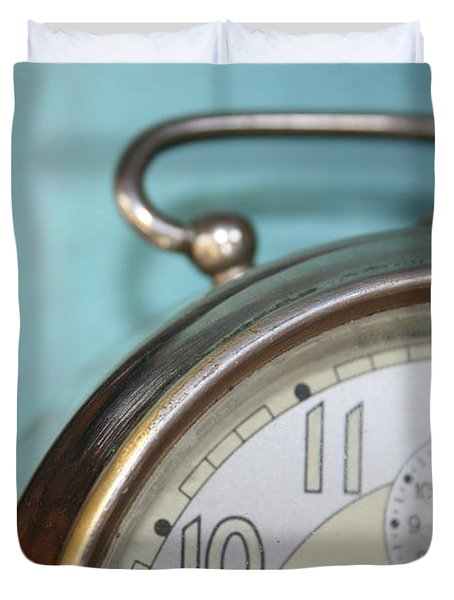 It's Time Duvet Cover by Nomad Art And  Design