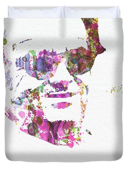 Jack Nicolson 2 Duvet Cover by Naxart Studio