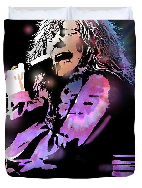 Janis Joplin Duvet Cover by Paul Sachtleben