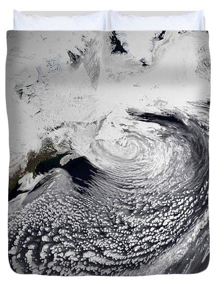January 2, 2009 - Cloud Simulation Duvet Cover by Stocktrek Images