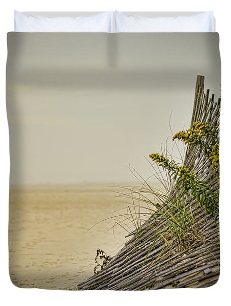 Jersey Shore Duvet Cover by Heather Applegate