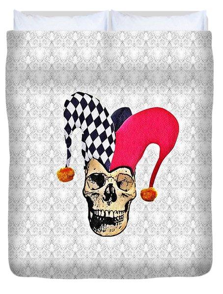 Joker Duvet Cover by Bill Cannon