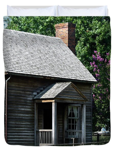Jones Law Office Appomattox Court House Virginia Duvet Cover by Teresa Mucha