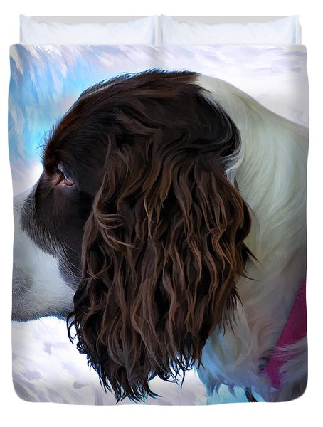 Kaya Paint Filter Duvet Cover by Steve Harrington