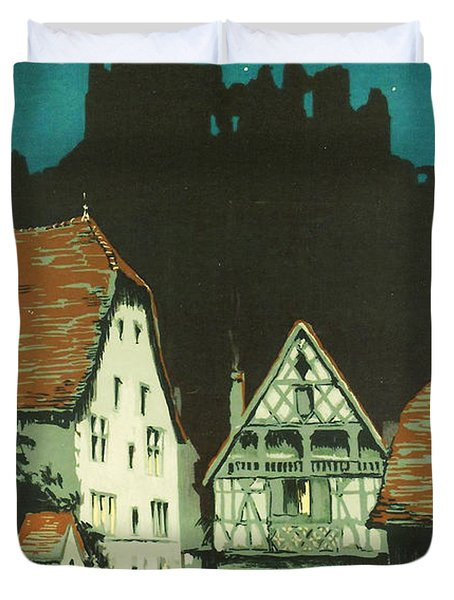 Kaysersberg Alsace Duvet Cover by Nomad Art And  Design