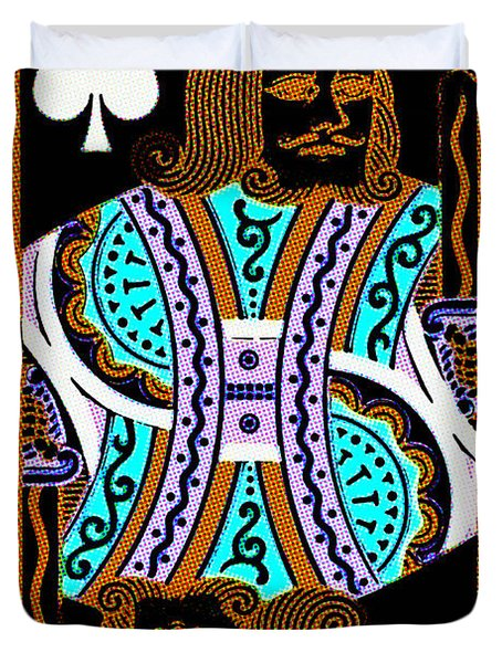 King of Spades Duvet Cover by Wingsdomain Art and Photography