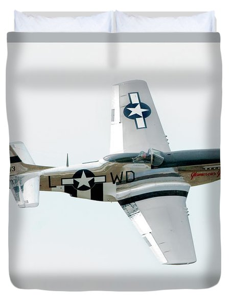 King of the Skies Duvet Cover by Greg Fortier