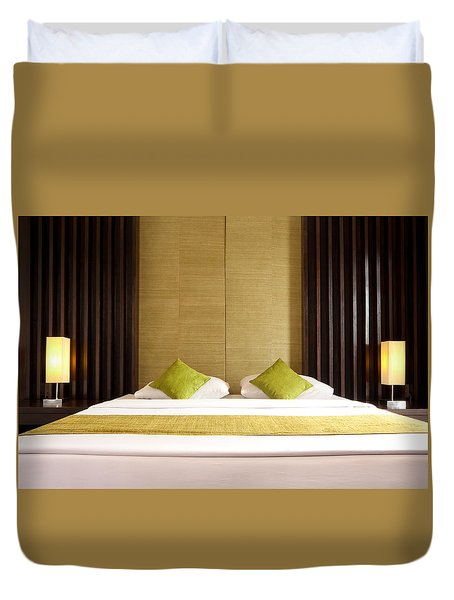 King Size Bed Duvet Cover by Atiketta Sangasaeng