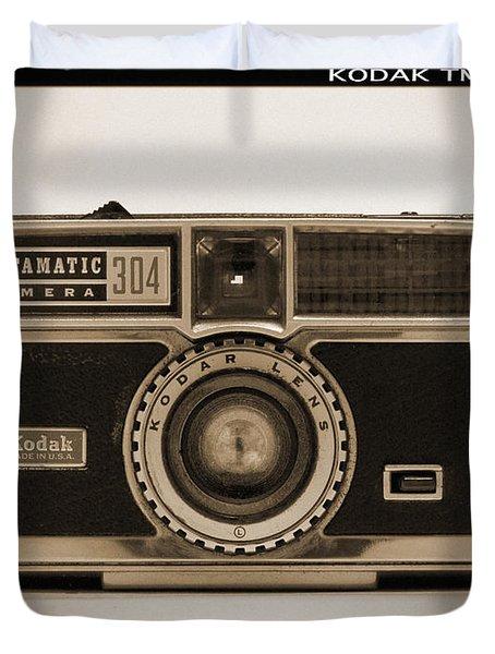 Kodak Instamatic Camera Duvet Cover by Mike McGlothlen