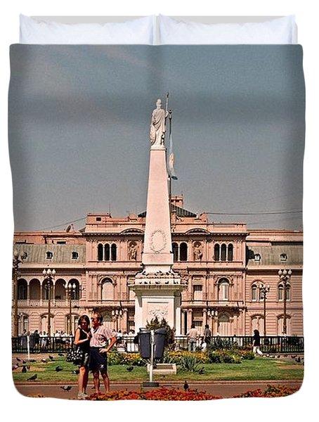 La Casa Rosada ... Duvet Cover by Juergen Weiss