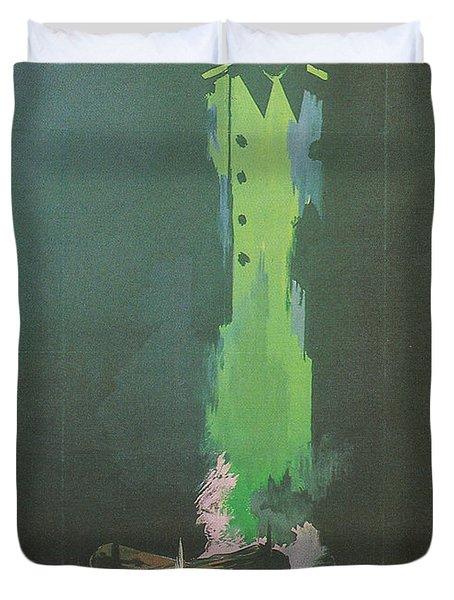 La Silence De La Mer Duvet Cover by Nomad Art And  Design