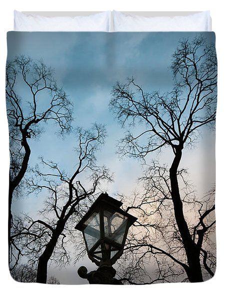 Lantern Duvet Cover by Konstantin Dikovsky