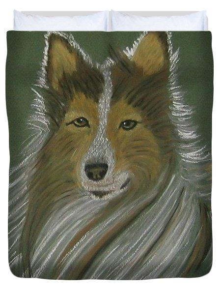Lassie Duvet Cover by Sandra Frosst
