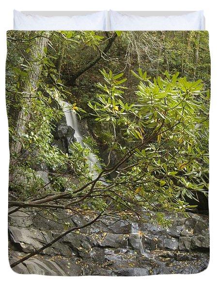 Laurel Falls 6226 Duvet Cover by Michael Peychich