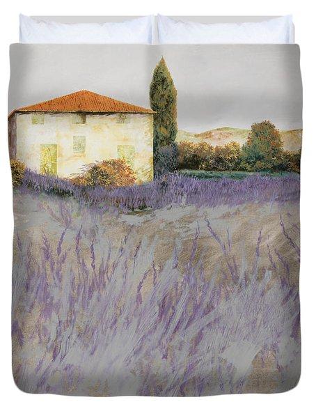 lavender Duvet Cover by Guido Borelli