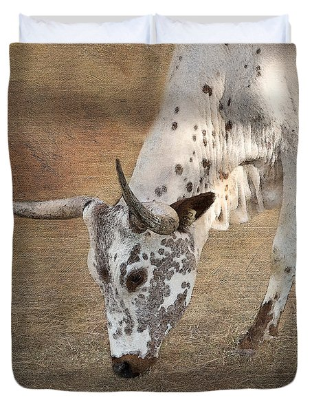 Lazy Days Duvet Cover by Betty LaRue