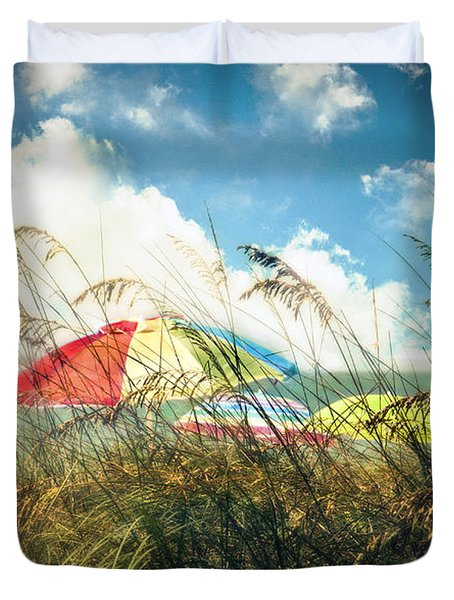 Lazy Days Of Summer Duvet Cover by Tammy Wetzel