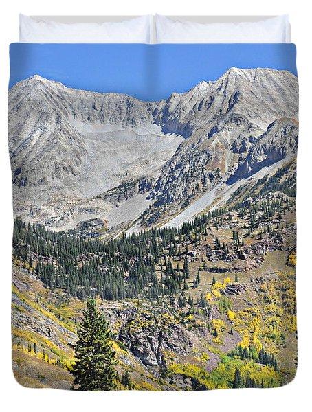 Lead King Basin Road 3 Duvet Cover by Marty Koch