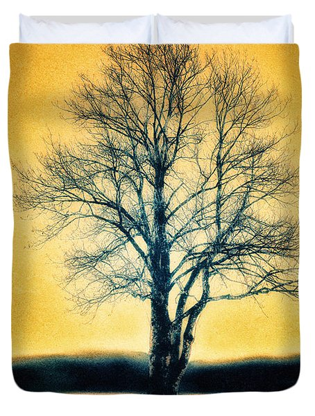 Leafless Tree Duvet Cover by Jutta Maria Pusl