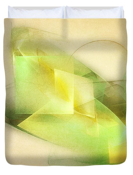 Lemon Lime Duvet Cover by Scott Norris