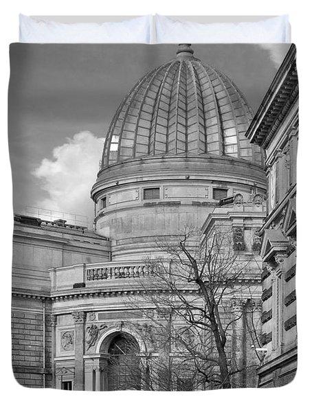 Lemon Squeezer - Academy Of Fine Arts Dresden Duvet Cover by Christine Till